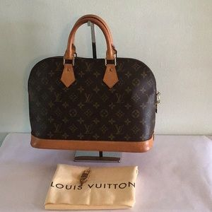 Authentic Alma Monogram  PM Louis Vuitton